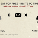 Get a Seat for Free – Invite friends to TimeCamp NOW!