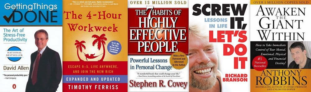 5 Insprational Books to Increase Effectiveness #1