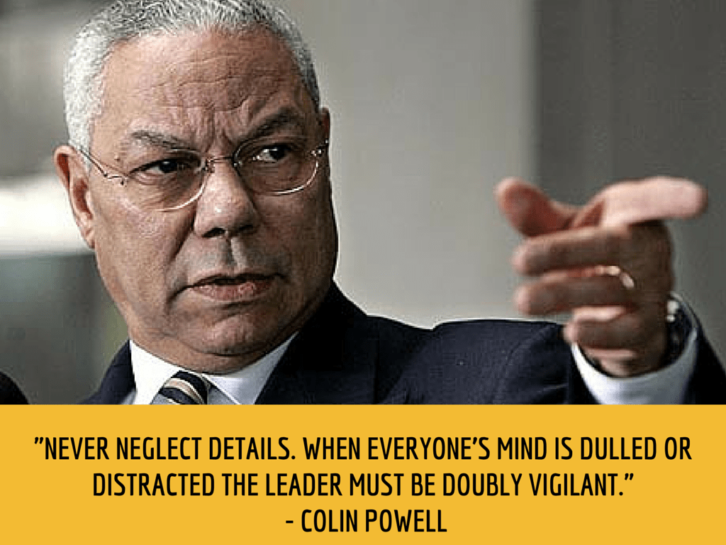 collin powell productivity quote