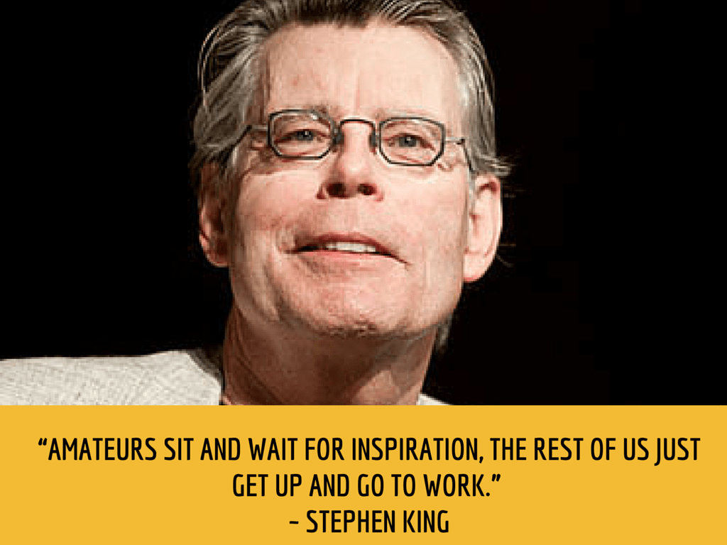 stephen king productivity quote