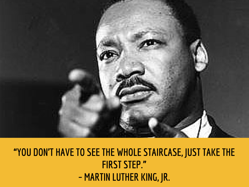 martin luther king jr. productivity quote
