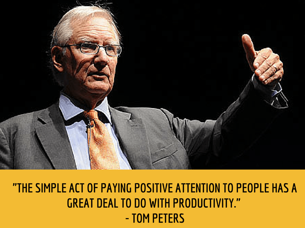 tom peters productivity quote