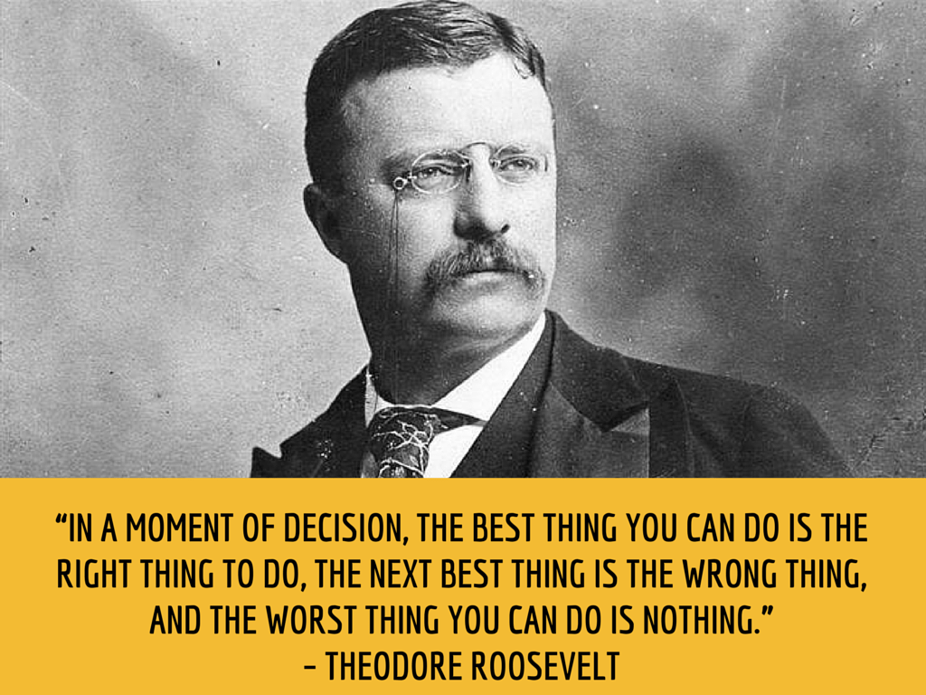 roosevelt productivity quote
