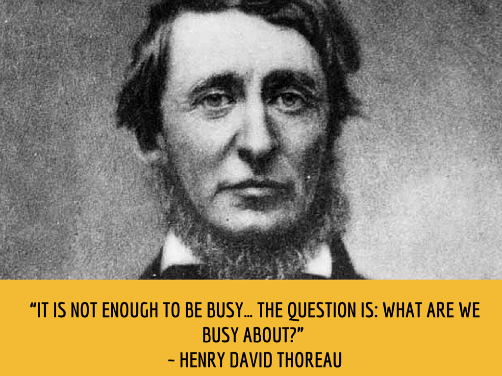 david essay henry thoreau