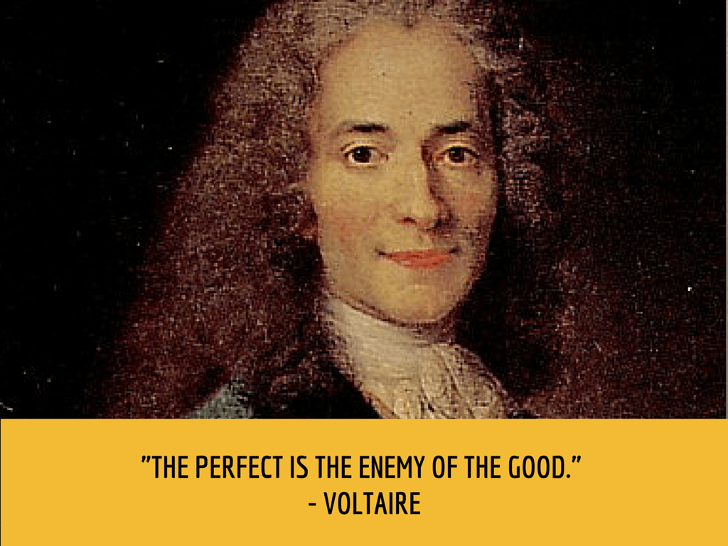 voltaire productivity quote