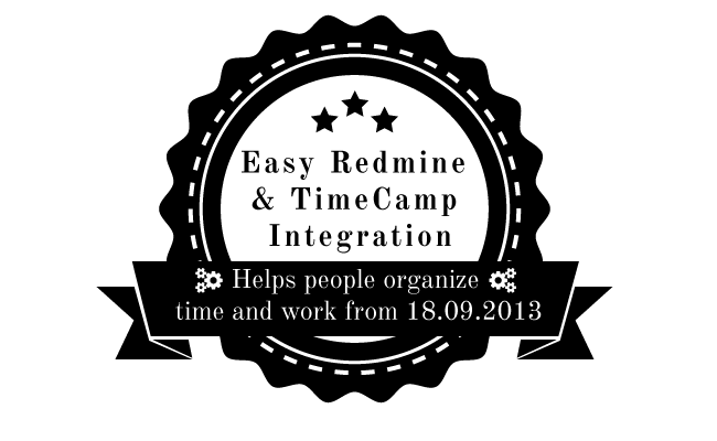 Easy Redmine time tracking