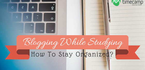 Blogging while studying