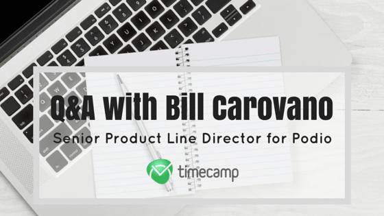 Q&A with Bill Carovano (1)