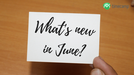 What's new in June-