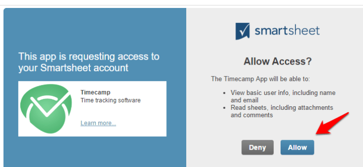 Add time tracking to your Smartsheet with TimeCamp! - TimeCamp