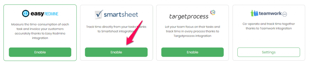Benefits of using TimeCamp and Smartsheet time tracking integration!