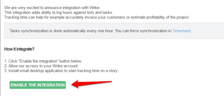 wrike time tracking
