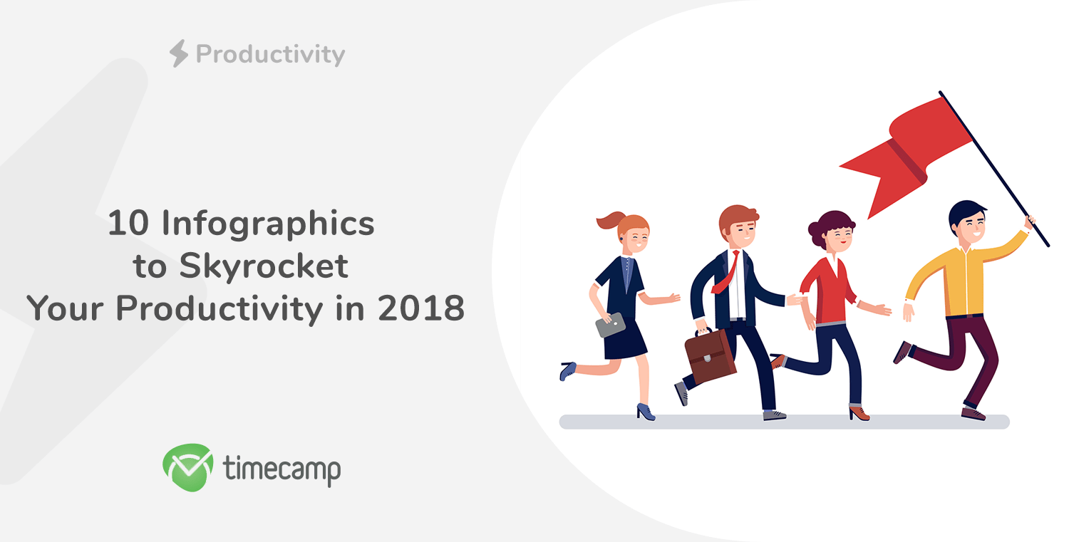 10 Infographics to Skyrocket Your Productivity in 2018