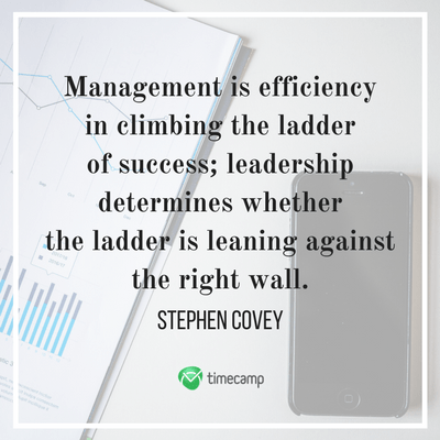 15 Inspiring Leadership And Management Quotes Timecamp
