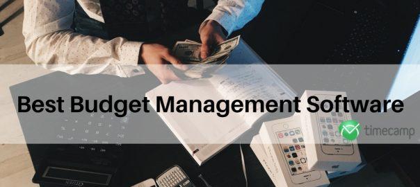 budget management software screen