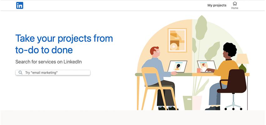 linkedin profinder freelance websites list