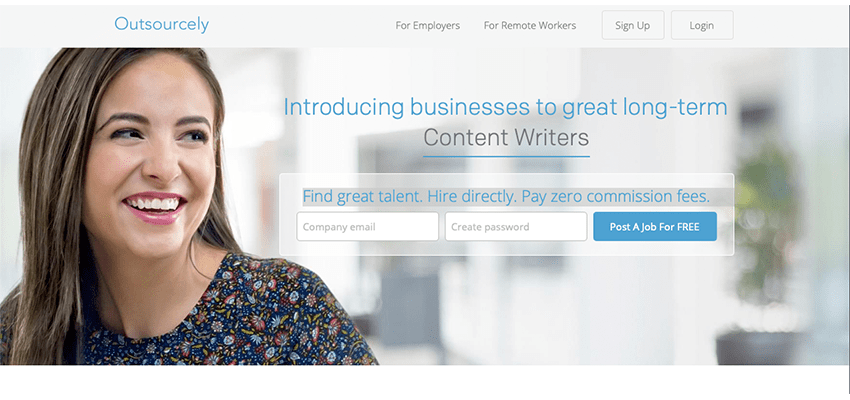 freelance websites list oursourcely
