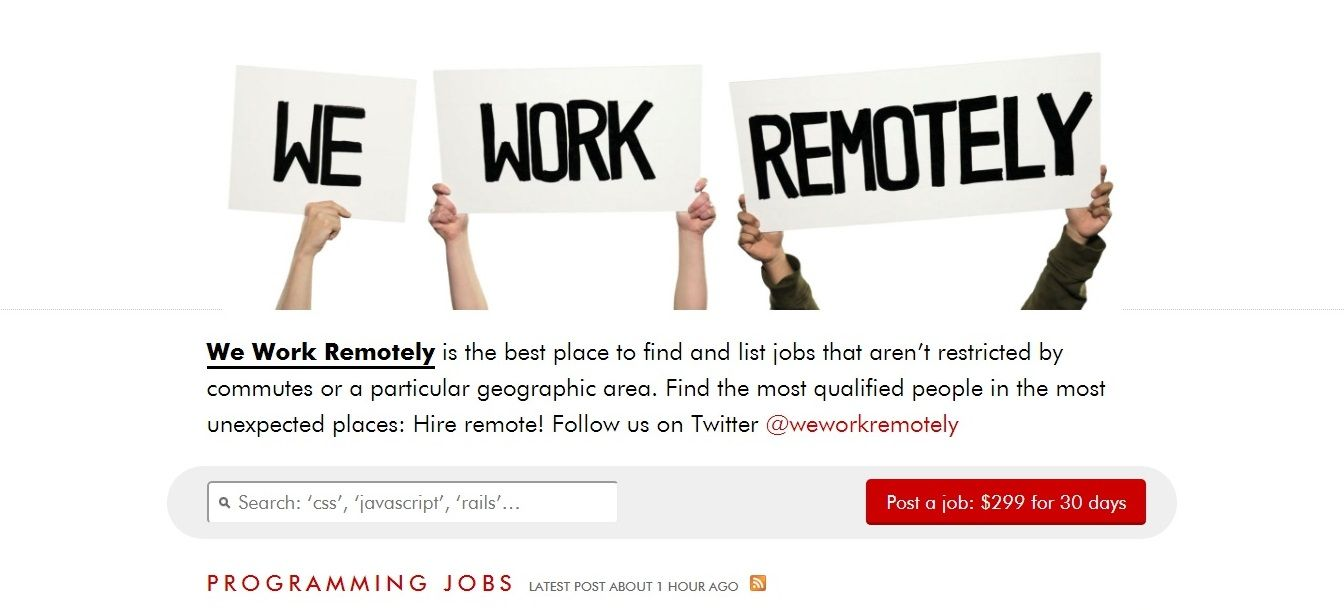 remote location jobs