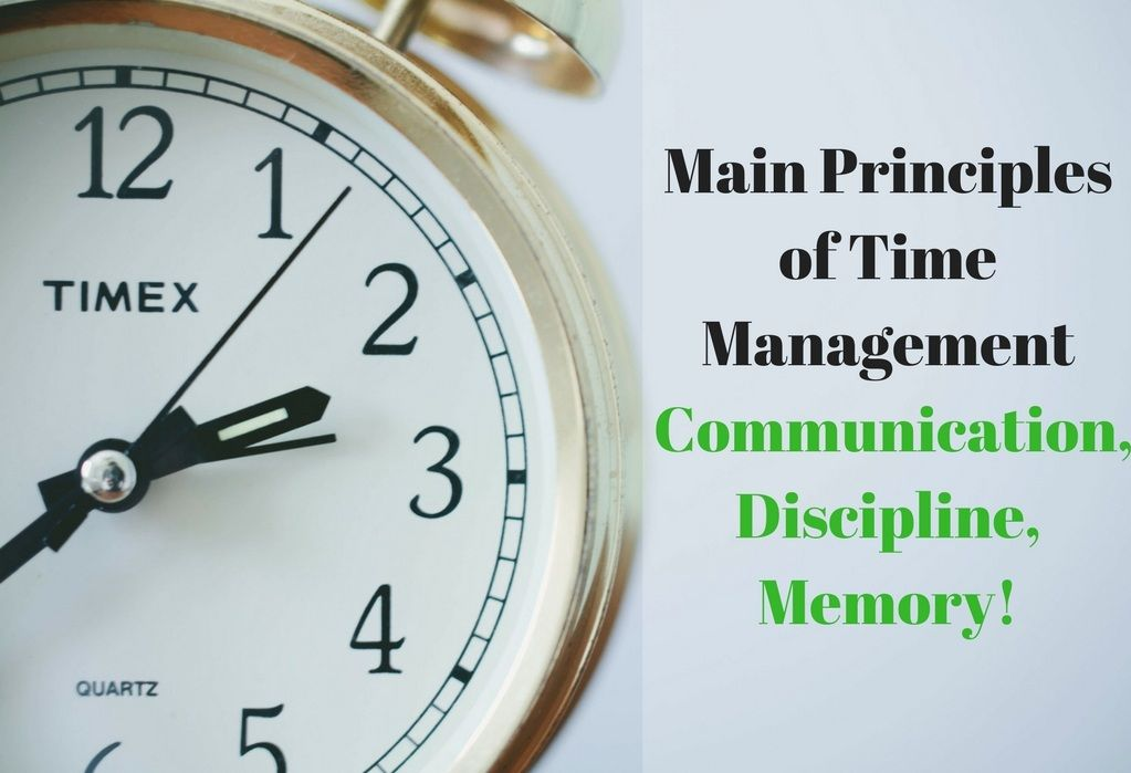 main-principles-of-time-management-communication-discipline-memory-screen