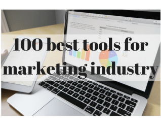 tools for marketing industry