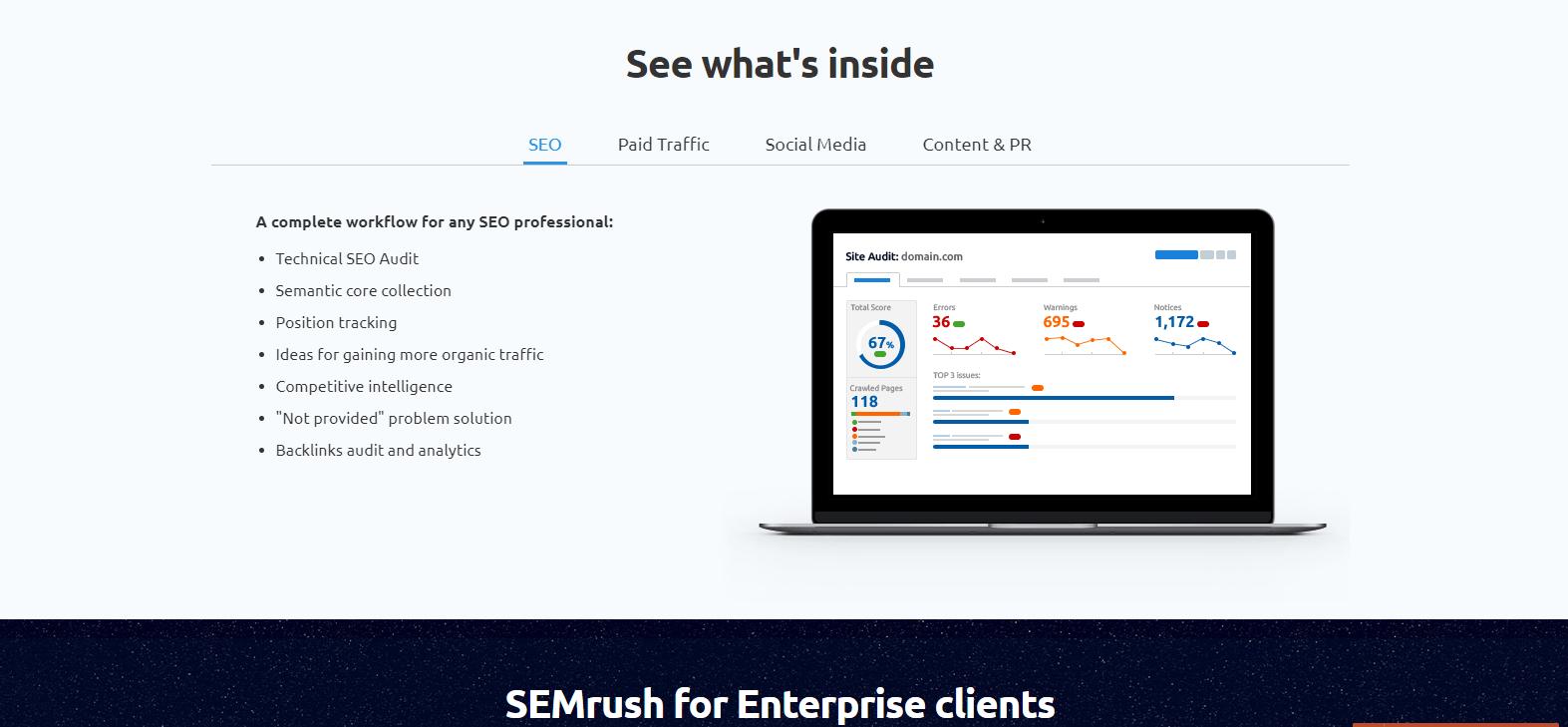 SEMRush-screen