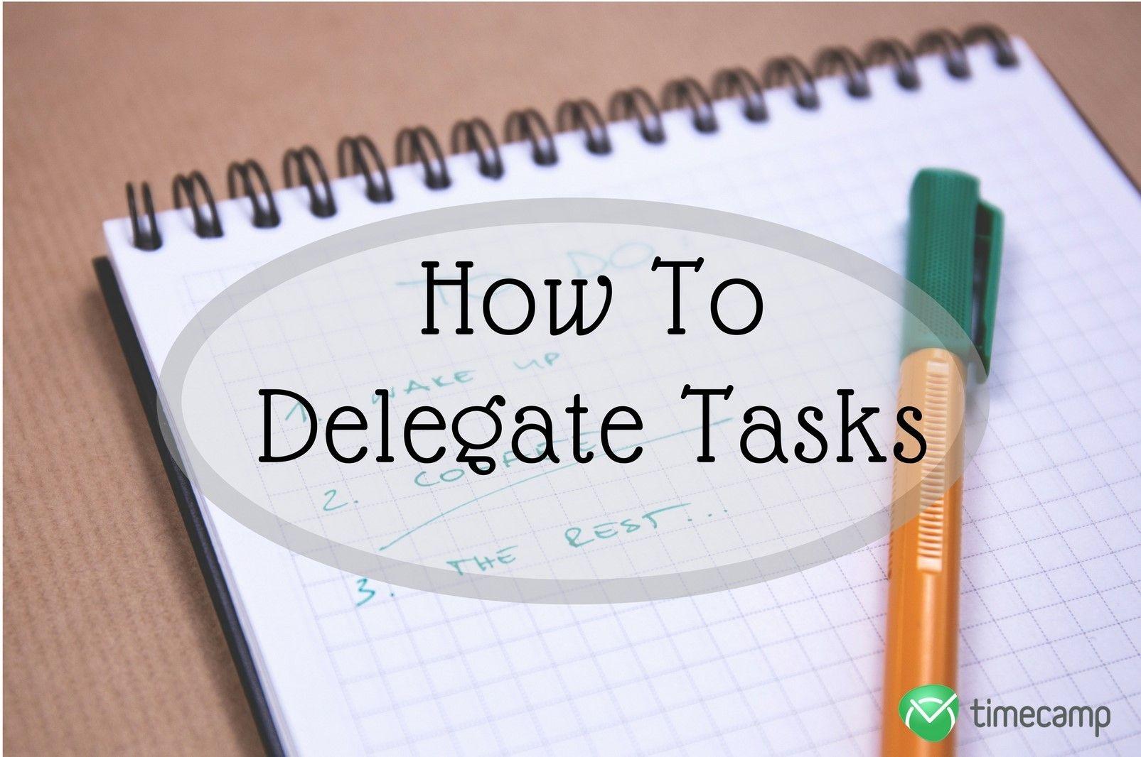 how-delegate-tasks