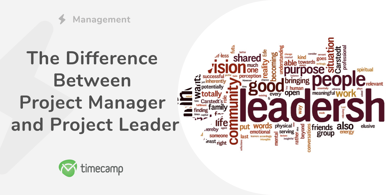 Difference between project manager and project lead