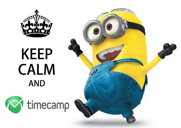 keep calm and timecamp