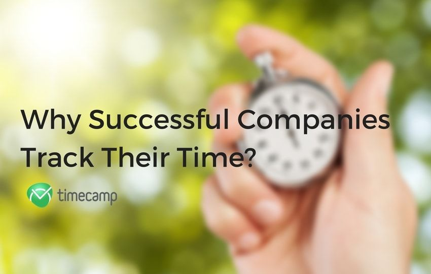 companies track their time