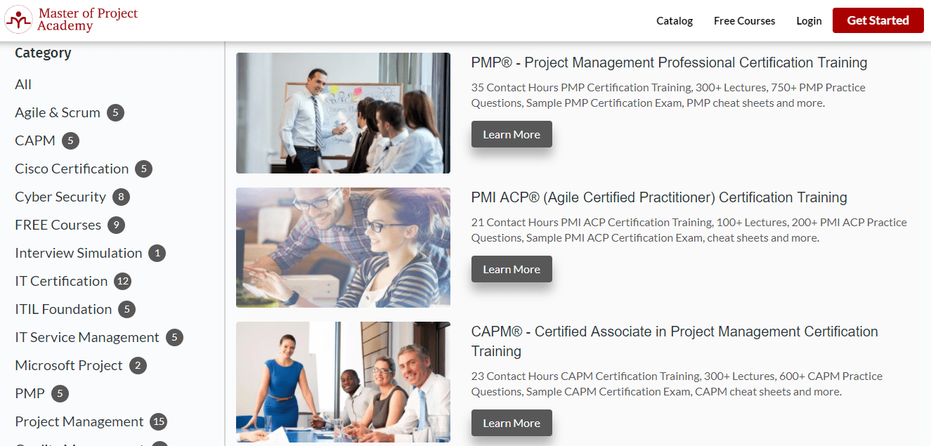 5 online courses for project manager 4 master of project academy xflitez Images