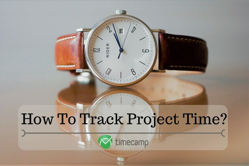 how to track project time