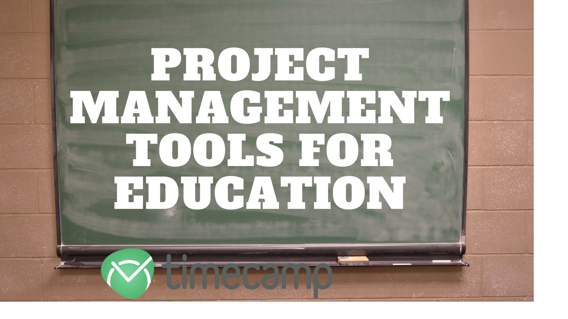 Project Management Tools for Education - TimeCamp