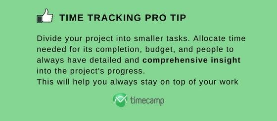 time tracking pro tip