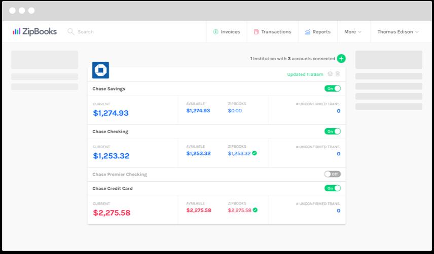 zipbooks accounting app