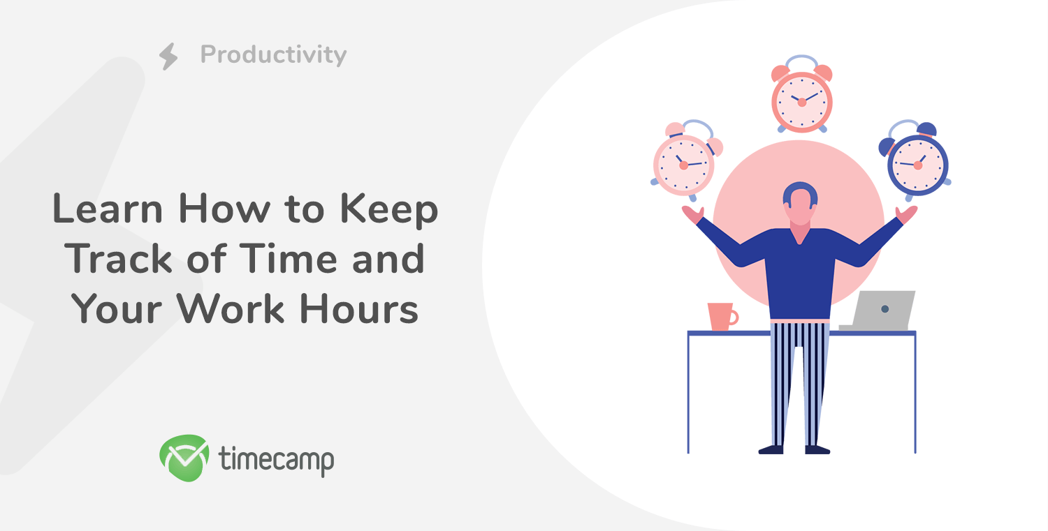 Keep track of time and work hours - header image