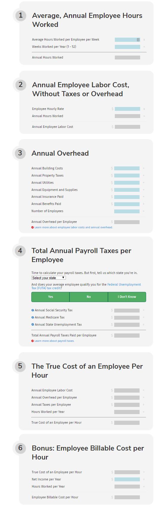 top 5 free payroll calculators timecamp