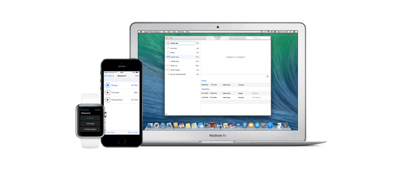 Caato time tracking software for mac