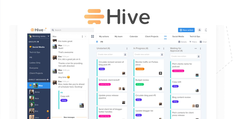 slack alternatives - hive