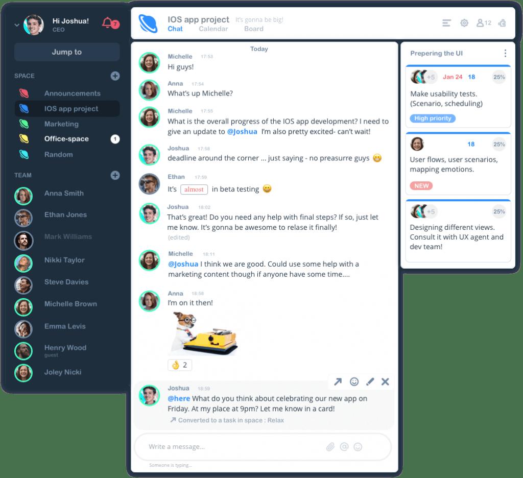 heyspace screenshot