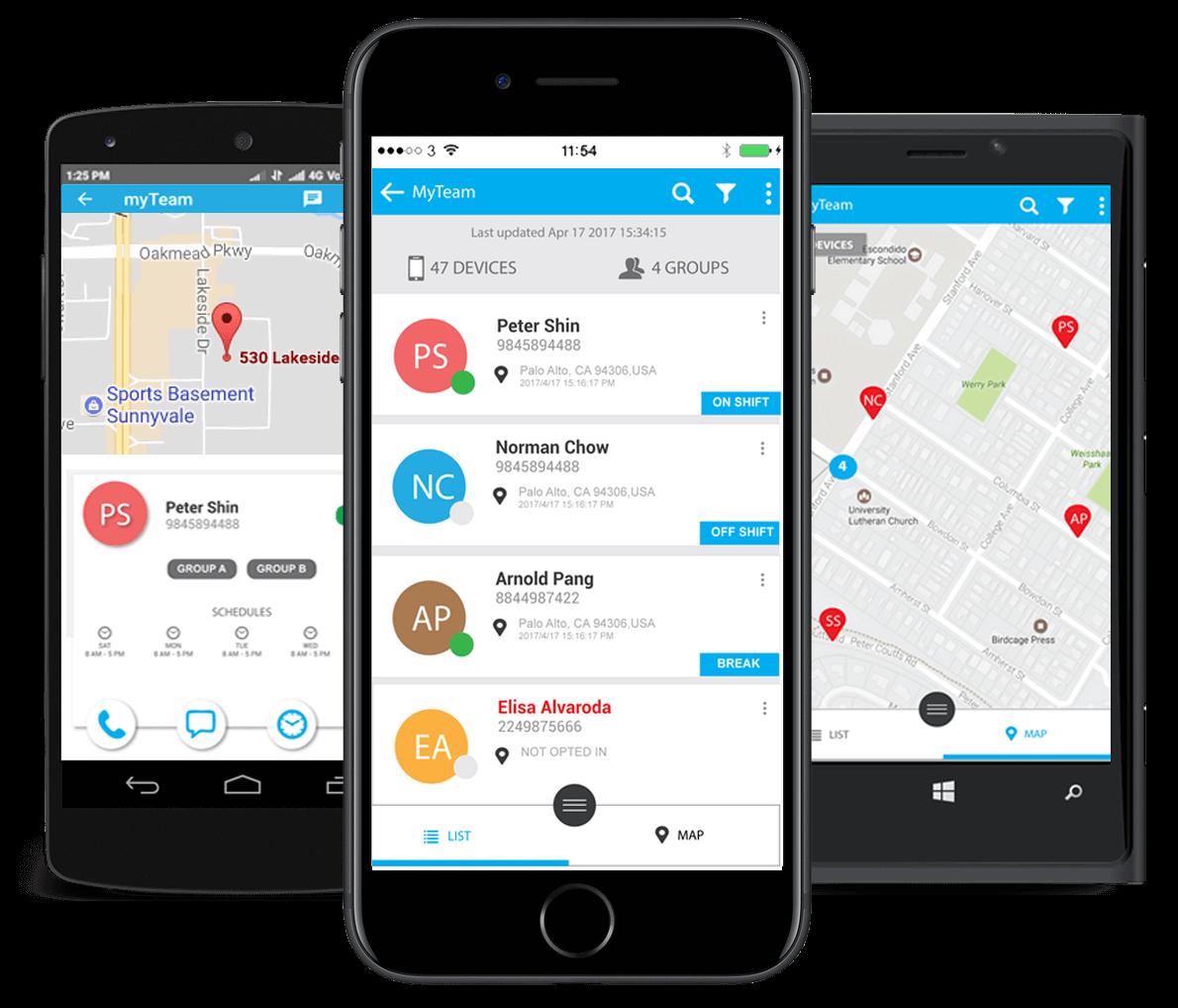 allGEO-geofence-time-clock-app