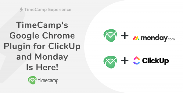 TimeCamp plugin for ClickUp and Monday