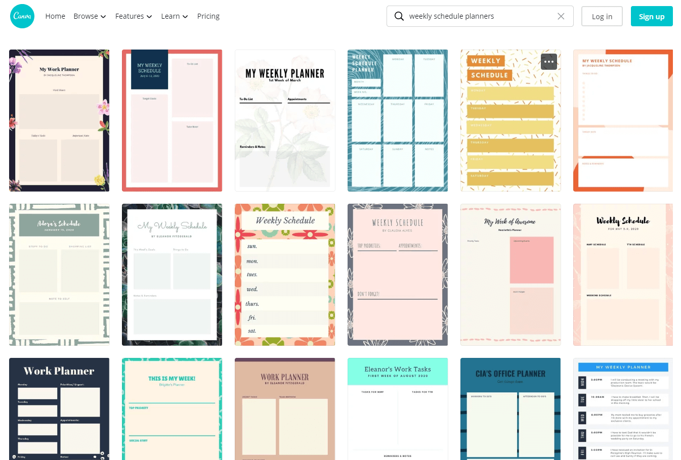 The Best Weekly Schedule Templates Organize Your Time Timecamp