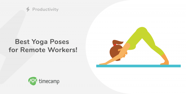 yoga poses for remote workers