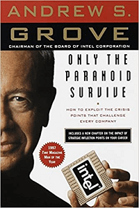 Only The Paranoid Survive - best books about management