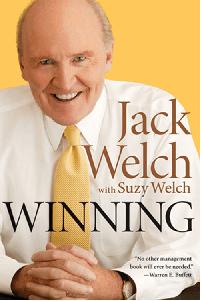 Winning book by Jack Welch