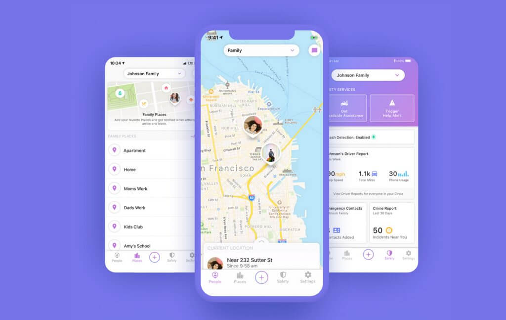 Life 360 app for Android