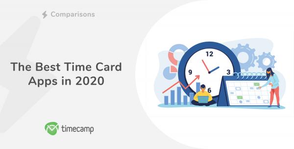 Time card apps header image