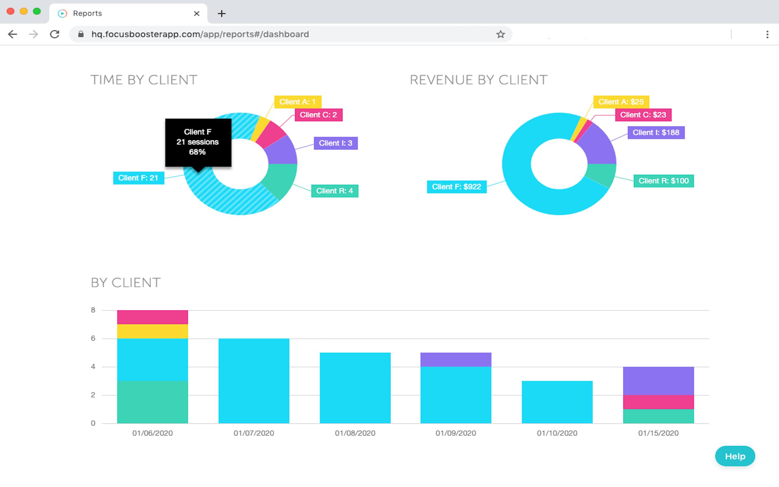 focus booster time management app