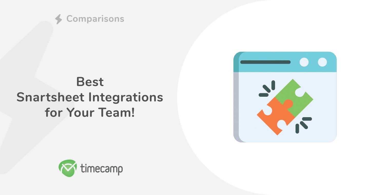 Best Smartsheet Integrations for Your Team!