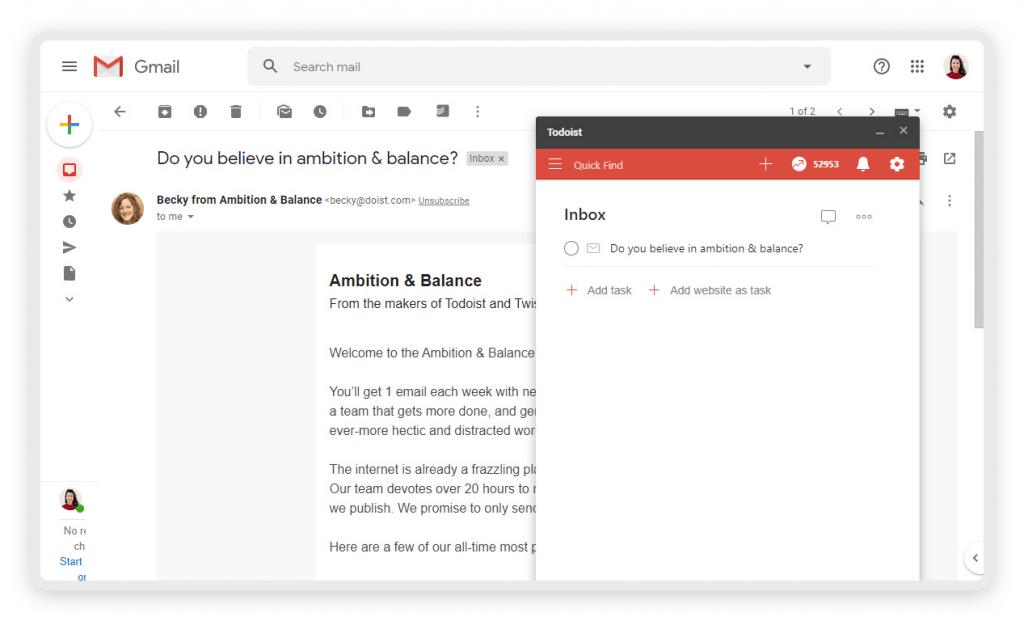 todoist-gmail-integration